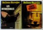 Les intouchables + carte vermeil - deux volumes. Boileau-Narcejac