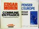 Commune en France: La métamorphose de Plodémet + Penser l'Europe (en supplément). Morin Edgar