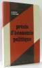 Précis d'économie politique - classe de T.E. Poly  Roche