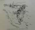 """La cour de France à la fin du XVIIe siècle d'après les """"mémoires"""" - illustrations de René Giffey. Saint-Simon"""