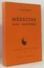 Médecine sans frontières (coll. action et pensée n°20  pages non coupées). Menkès