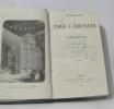 Itinéraire de paris à jérusalem. Chateaubriand