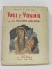 Paul et virginie la chaumière indienne. Bernardin De Saint-pierre