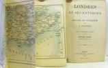 Londres et ses environs - manuel du voyageur (avec 4 cartes et 21 plans 9e édition). Baedeker