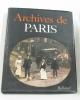 Archives de paris. Borgé Jacques  Viasnoff Nicolas