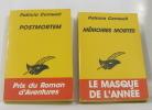 Postmortem - mémoires mortes (lot de 2 livres). Cornwell Patricia