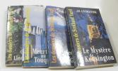 """Le mystère de Kensington - le secret des mac gordon - meurtres au touquet - crime à lindenbourne (lot de 4 livres """"les dossiers de scotland yard). ..."""