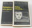 Adieu cousine... - épitaphe pour une garce (lot de 2 livres). Mcbain Ed