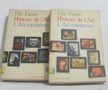Histoire de l'art 2 volumes - L'art médiéval et l'art renaissant. Faure Elie