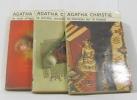 Le Noël d'Hercule Poirot - le couteau sur la nuque - la plume empoisonnée (lot de 3 livres). Agatha Christie