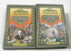 Grand album - le travailleur de la mer  l'archipel de la manche (lot de deux livres). Hugo Victor  Chifflart Et Vierge (dessins)