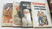 Lot de 4 livres / Chirurgien au long cours - non pas la mort... mais l'amour - à la pointe du bistouri - afin que nul ne meure. Slaughter Frank G