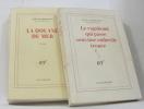 (Lot de 2 livres) La Douane De Mer - le vagabond qui passe sous une ombrelle trouée. Ormesson Jean D'