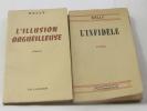 L'illusion orgueilleuse - l'infidèle (lot de 2 livres). Delly