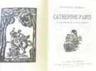 Le perroquet vert + Catherine Paris -- bois originaux de (respectivement): Hallo  Grillon. Bibesco Princesse