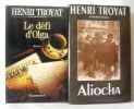 Le sac et la cendre + L'affaire Crémonnière + Le défi d'Olga + Aliocha (4 livres). Troyat