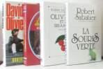 David et Olivier + les fillettes chantantes + la Souris verte + Olivier et ses amies - 4 livres. Sabatier Robert