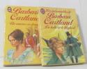 Lot de 2 livres Un amour en danger - la belle et le léopard. Cartland Barbara