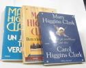 Lot de 3 livres - Ce soir je veillerai sur toi - nous n'irons plus au bois - un jour tu verras. Clark Carol Higgins  Clark Mary Higgins  Damour Anne ...
