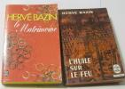 Le matrimoine - l'huile sur le feu (lot de 2 livres). Bazin Hervé
