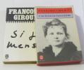 Lot de 2 livres Une Femme Honorable - si je mens. Giroud Françoise