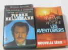Lot de 2 livres Les Aventuriers - les nouveaux dossiers extraordinaires de pierre bellemare. P. Bellemare  J. Antoine