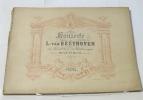 Konzerte für pianoforte zu vier handen arrangiert klavier-concert op.15. op.19. L.van Beethoven