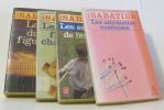 Lot de 4 livres La mort du figuier - les enfants de l'été - les allumettes - les fillettes chantantes. Sabatier-R