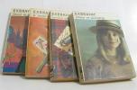Lot de 4 livres Amour et sparadrap - encore vous imogène - le temps se gâte à zakopane - félicité de la croix rousse. Exbrayat