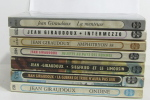 Lot de 7 livres Siegfried et le limousin - la guerre de troie n'aura pas lieu - ondine - la menteuse - intermezzo - juliette au pays des hommes - ...