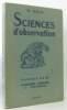 Sciences d'observation - classe de 6e calssique  moderne et technique. Oria