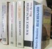 (Lot de 5 livres) Helvétie - l'adieu au sud - les trois chênes - beauregard - rive-droite. Denuzière Maurice