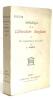 Anthologie de la littérature anglaise tome deuxième du romantisme à nos jours. Koszul A