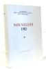 Nouvelles 1982 - anthologie pour l'élection d'un prince de la nouvelle. Anonyme