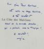 La Côte des Mal-Gens - avec hommage de l'auteur. Derey Jean-Claude
