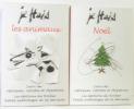 Je hais les animaux + Je hais noël --- deux volumes. Momus Eric