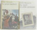 Le géant inachevé - La Mort n'Oublie Personne --- deux livres. Daeninckx