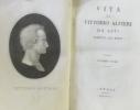 Vita di vittorio Alfieri da asti - scrita da esso - Volume Primo. Alfieri Vittorio
