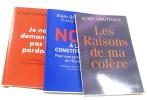 (Lot de 3 livres )Non à la constitution : Pour une certaine idée de l'Europe - je ne demande pas pardon la france n'est pas coupable - les raisons de ...