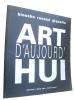Art d'aujourd'hui (catalogue). Giquello  Renaud Binoche