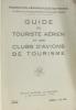 Guide du touriste aérien et es clubs d'avions de tourisme (3e édition 1934). Fédération Aéronautique De France