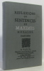 Réflexions ou sentences et maximes morales - nouvelle édition. Barthes Roland (présenté Par)