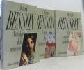 Nostalgie de la princesse + Les années Isabelle + Je sais des histoires --- trois livres. Besson P