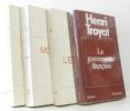 La Gouvernante française + Le front dans les nuages + Le moscovite + Le pain de l'étranger --- 4 livres. Troyat Henri