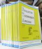 Bulletin Technique Apicole - publication trimestrielle --- du n°85-Vol. 21 (1) au n°144-Vol.35(4) --- (n°98 et 118 manquants soit 55 numéros en ...