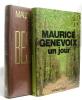 Un jour - tendre bestiaire (lot de 2 livres). Maurice Genevoix