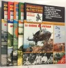 Connaissance de l'histoire 5 numéros: 54-55-56-57-59 - U.S. air force en europe  opérations aéroportées  spécial blindés  grandes batailles  la guerre ...