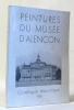 Peintures du musée d'alençon - catalogue didactique 1938. Anonyme