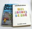 Mes arches de noé - les vingt ans du jeune homme vert (lot de 2 livres). Déon Michel