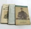 Charles de gaulle - soldat et politique + charles de gaulle + charles de gaulle général de france (lot d e 3 livres). Auburtin Jean  Barres Philippe  ...